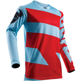 Camiseta cross Pulse level THOR Rojo/azul