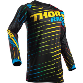 Camiseta cross Pulse Rodge THOR Negro/multicolor