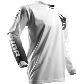 Camiseta cross Pulse Whiteout THOR Blanco