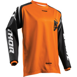Camiseta cross Sector Zones THOR Naranja