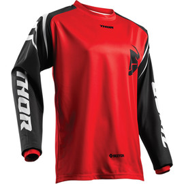 Camiseta cross Sector Zones THOR Rojo