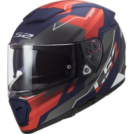 Casco LS2 FF390 Breaker BETA Azul / Rojo Mate