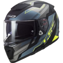Casco LS2 FF390 Breaker BETA Cobalto / Amarillo