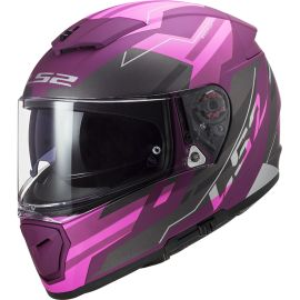 Casco LS2 FF390 Breaker BETA Púrpura Mate