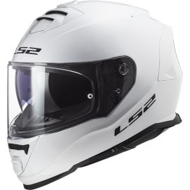 Casco LS2 F800 Storm Solid Blanco Brillo
