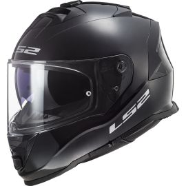 Casco LS2 F800 Storm Solid Negro Brillo
