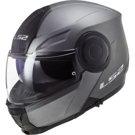 Casco LS2 FF902 Scope Solid Titanio Mate