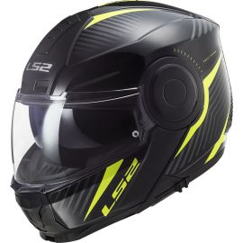 Casco LS2 FF902 Scope Skid Negro / Amarillo Hi-Vis