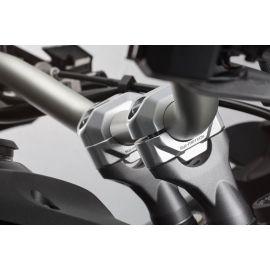 Elevadores 30 mm SW Motech en plata para Honda CRF 1100 L Africa Twin Adventure Sports 20-21