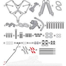 Portamaletas lateral Givi para Honda CB500X 2019