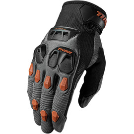 Guantes de cross Defend THOR Carbon/Negro