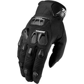 Guantes de cross Defend THOR Negro
