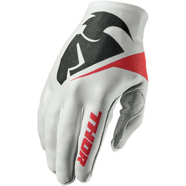Guantes de cross Invert Flection THOR Blanco