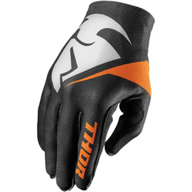 Guantes de cross Invert Flection THOR Negro