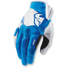 Guantes de cross Flow THOR Azul/blanco