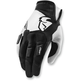 Guantes de cross Flow THOR Negro/blanco