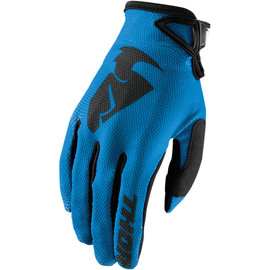 Guantes cross Sector Thor Azul