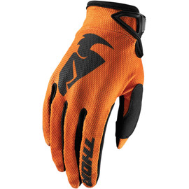 Guantes cross Sector Thor Naranja