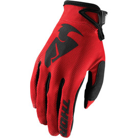 Guantes cross Sector Thor Rojo