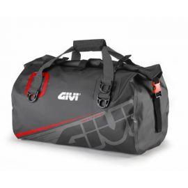 Bolsa  Givi EA115GR  impermeable de 40 litros  gris y rojo