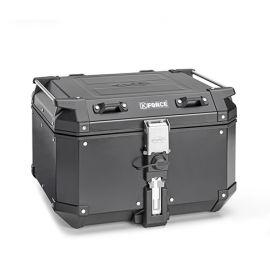 Maleta trasera Kappa Monokey K-Force 48 litros en alimunio color negro