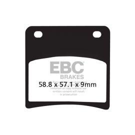 Pastillas de freno EBC Semi Sinterizadas FA146V