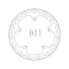 Disco de freno Brembo serie Oro con casquillos 168.B407.D7
