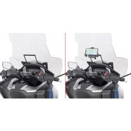 Barra Givi Porta bolsa GPS / Smartphone para Honda Forza 750 21-21