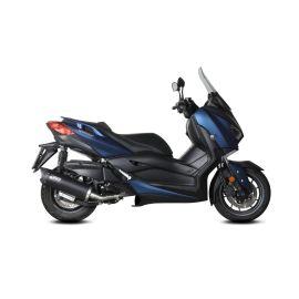 Escape completo homologado Mivv Mover acero negro para Yamaha X-MAX 400 17-21