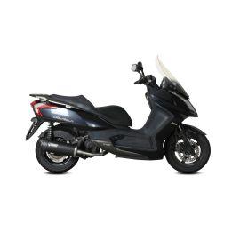 Escape completo homologado Mivv Mover Acero negro para Kymco Downtown 125 09-16