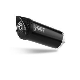 Escape completo homologado Mivv Mover acero negro para Honda SH 125 13-16