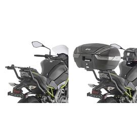Soporte de maleta trasera Givi para moto Kawasaki Z900 17-20