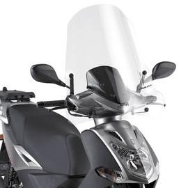 Cúpula transparente Givi 440A Para moto Kymco Agility 50-125-200 R16 08-13 Agility 125-200 R16+ 14>