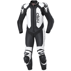 Mono Racing de piel Held Slade negro-blanco