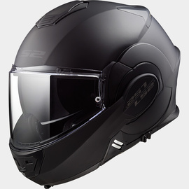 Casco modular LS2 Valiant Negro Mate Total