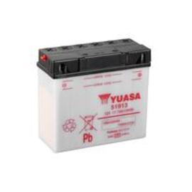 Batería Yuasa 51913 con pack de ácido