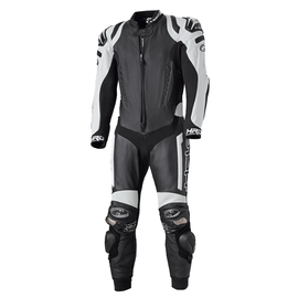 Mono Racing de piel Held Race-Evo negro-blanco