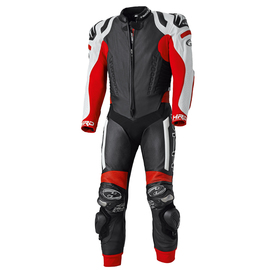 Mono Racing de piel Held Race-Evo negro-blanco-rojo
