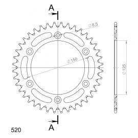 Kit de arrastre DID Reforzado para Husaberg FS C 650 05-08