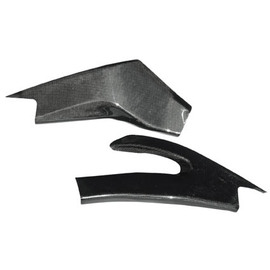 Proteccion basculante Lightech en fibra de carbono brillo para Yamaha R6 06-14