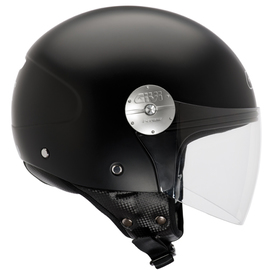 Casco moto Jet Givi 10.7 color Negro Mate