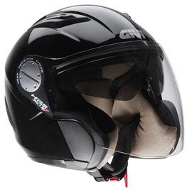 Casco Jet Givi HX07 Comfort color Negro Brillo