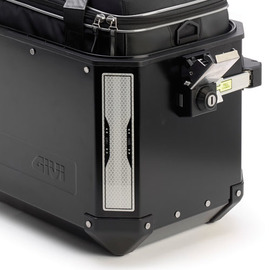 Pareja de pegatinas reflectantes para maletas Givi Trekker Outback