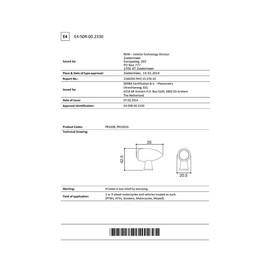 Intermitentes moto LED homologado Rizoma CLUB (Unidad)