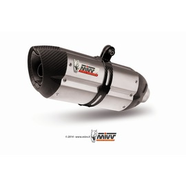 Escape homologado Mivv Suono Acero inox para Honda CBR 500 R CB 500 F 13-15