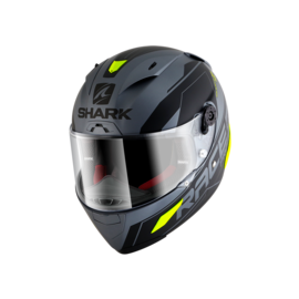 Casco integral SHARK Race-R Pro Sauer Gris/Amarillo