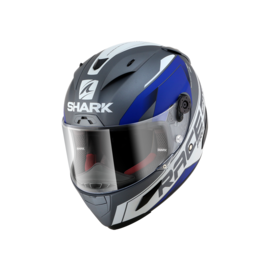 Casco integral SHARK Race-R Pro Sauer Gris/Azul