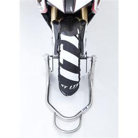 Caballete moto delantero universal regulable ITR fabricado en acero inoxidable