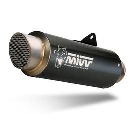 Escape homologado Mivv Gp Pro Acero negro para Kawasaki Z900 17-19  Z 900 E 17-21