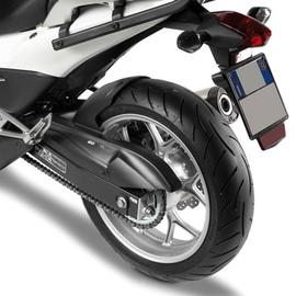 Guardabarros trasero moto Givi MG1109 con cubrecadena para Honda NC700S 12-13, NC750S 14-19, NC700X 12-13, NC750X 14-19, Integra 700 12-13